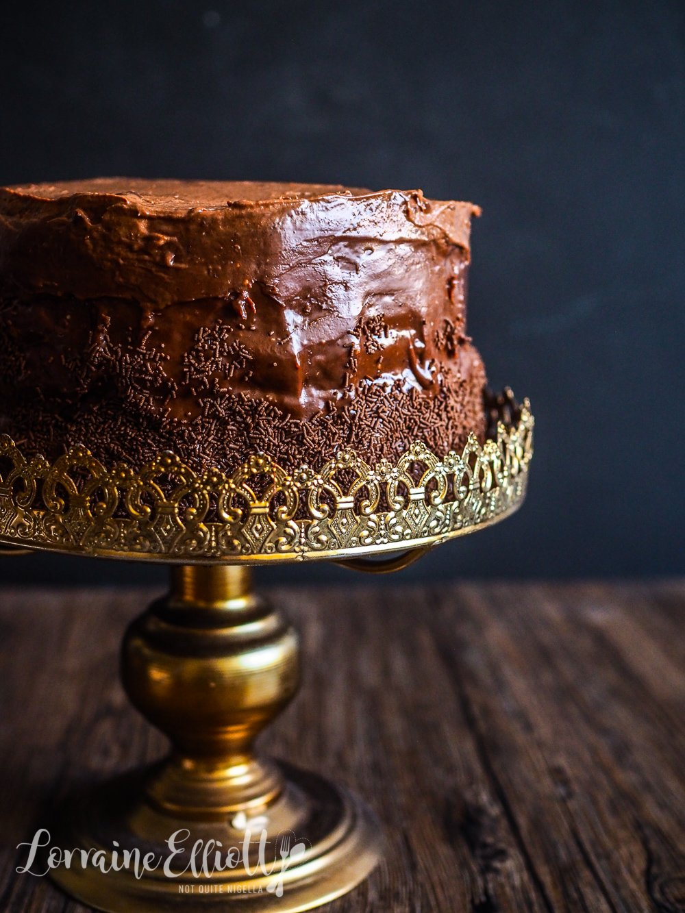12 layer ultimate chocolate cake