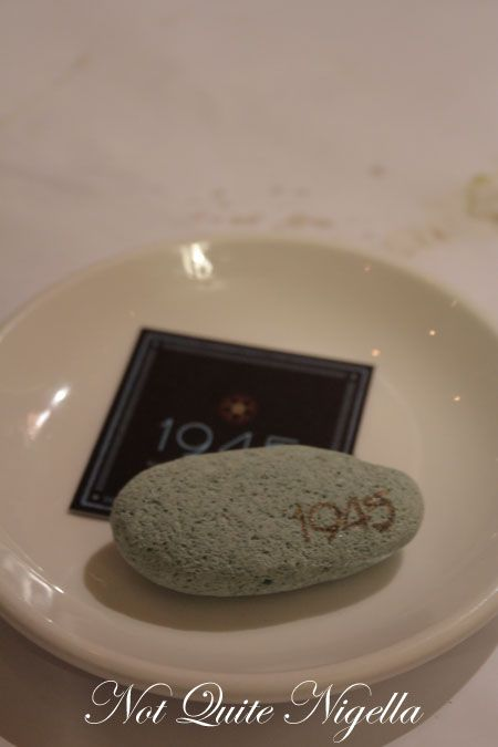 1945 restaurant, pyrmont, review, logo
