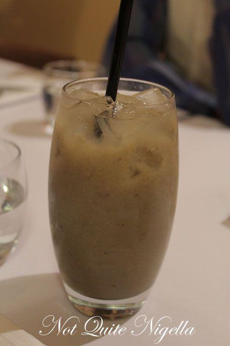 1945 restaurant, pyrmont, review, mung bean drink