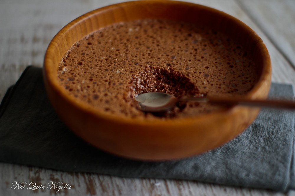 Two Ingredient Chocolate Mousse