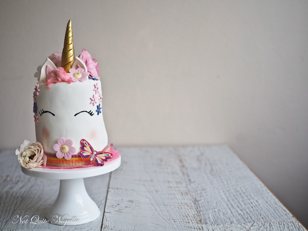 rainbow unicorn cake popular posts 2017 not quite nigella 6952