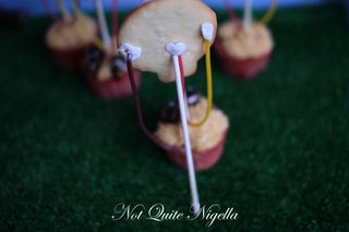 hot air balloon cupcakes