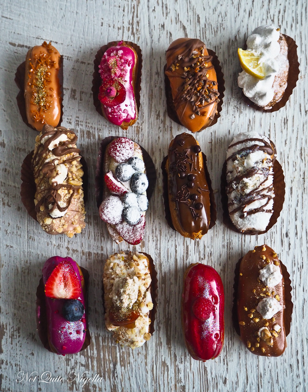 Pagoto, Ragamuffin, Donuts, Eclairs