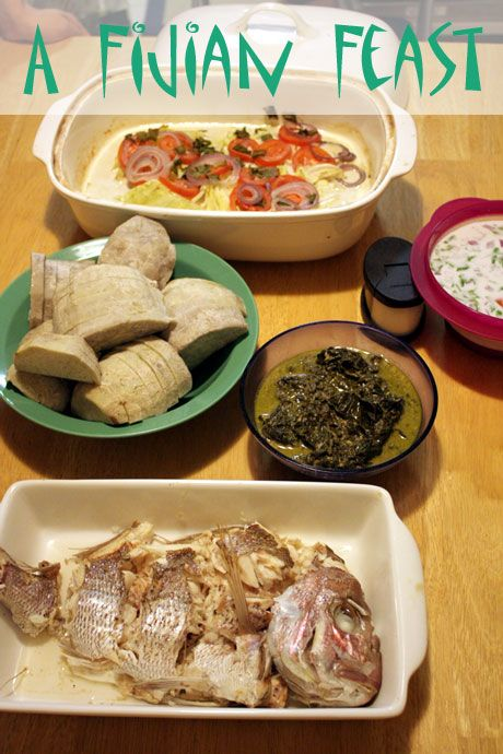 A Fijian Feast With Rou Rou Dalo Smoked Fish Miti And Vakalavalava Not Quite Nigella