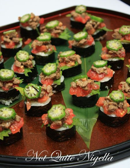 azuma gourmet safari beef sushi