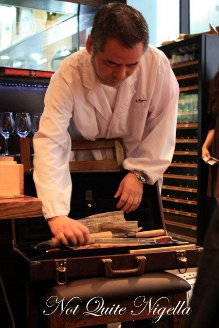azuma gourmet safari knife box