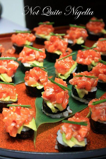 azuma gourmet safari salmon sushi