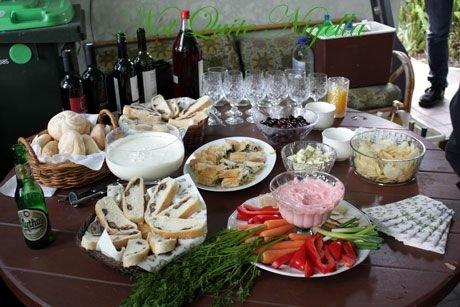A Greek Feast with Costa of Costa's Garden Odyssey