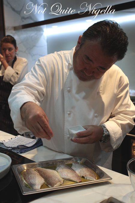 tetsuya masterclass salting fish