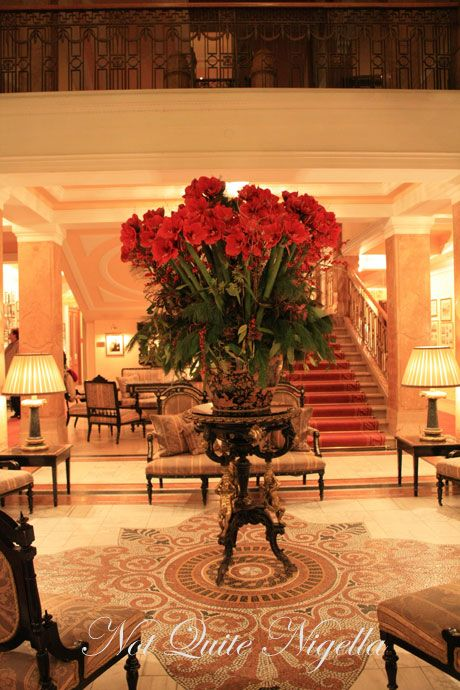 hotel sacher lobby