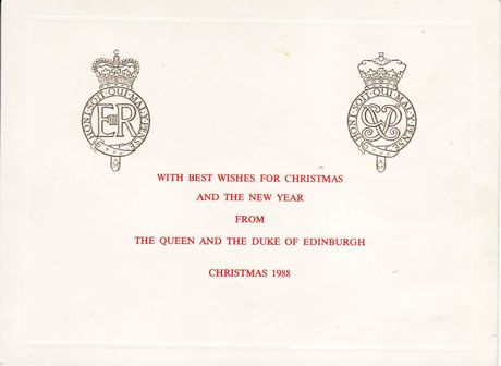 the queens christmas pudding