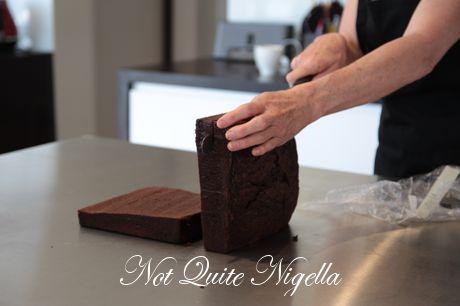 north pole christmas cake