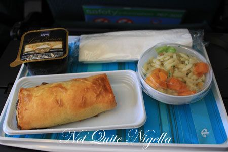 air new zealand, meal