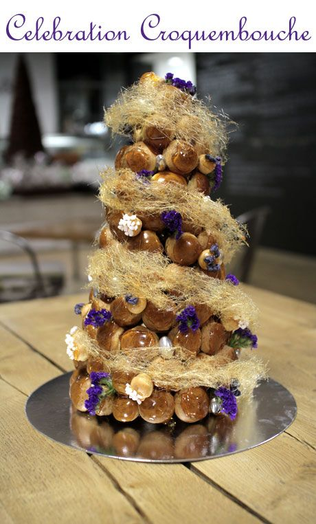 A Step By Step Guide on How to Make A Wedding Sized Croquembouche With Patisse