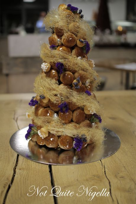 profiterole wedding cake recipe step by step croquembouche cake patisse sydney not 18804