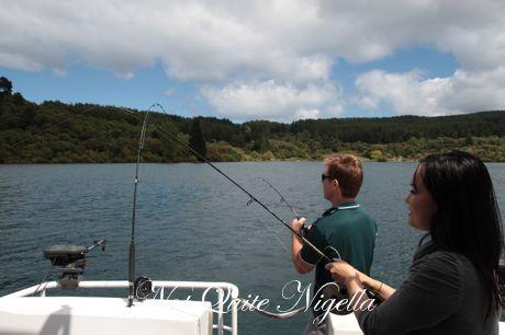 taupo acacia cliffs trout fishing