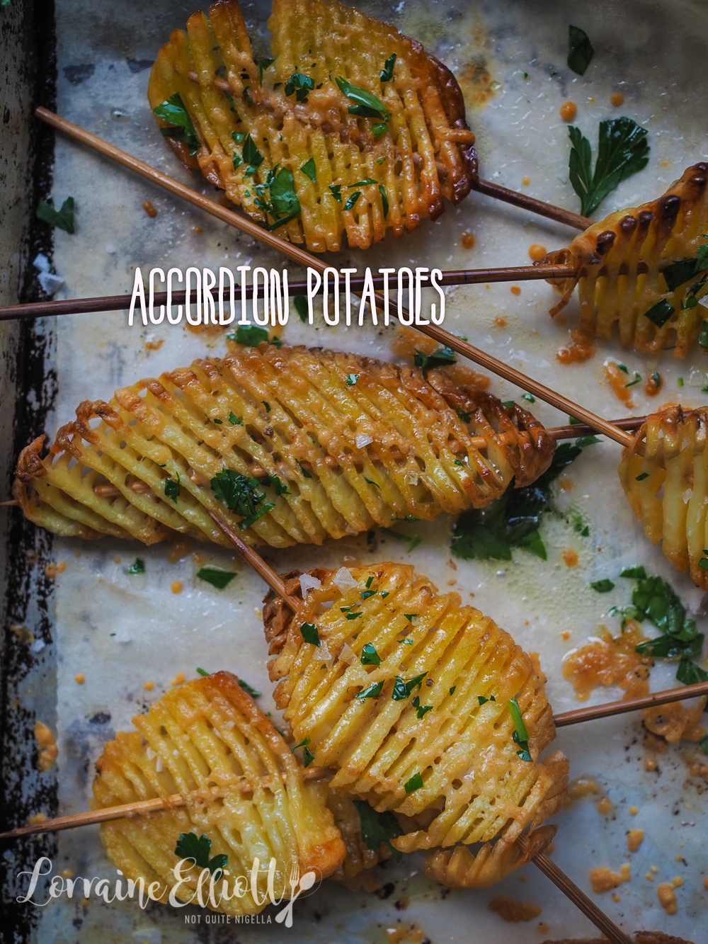Accordion Potatoes Best Crispy