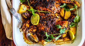 Chick Magnet: Roast Achiote Chicken With Potatoes