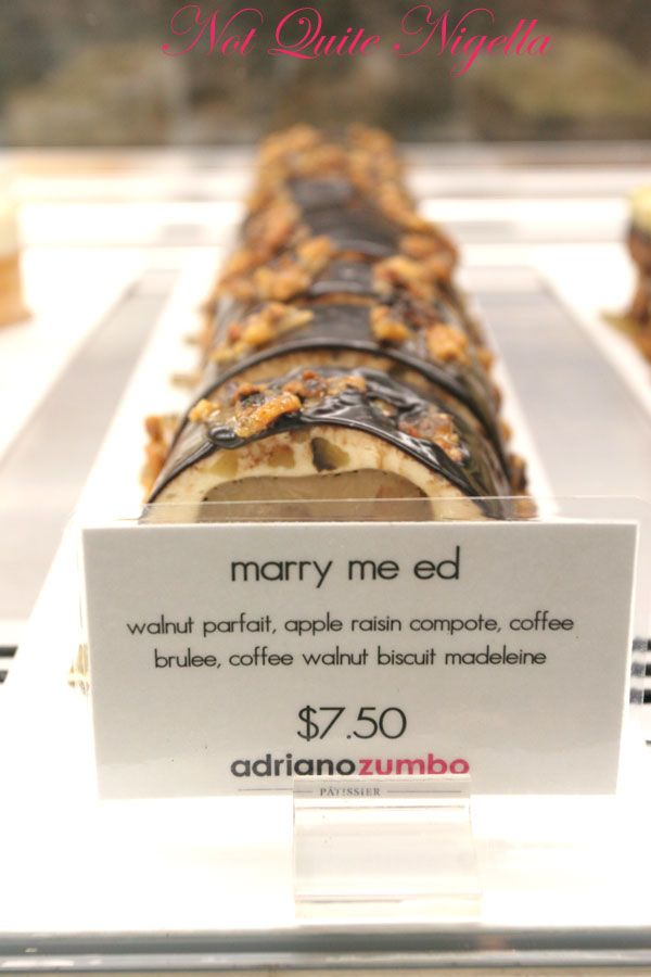 Adriano Zumbo at Balmain Marry Me Ed