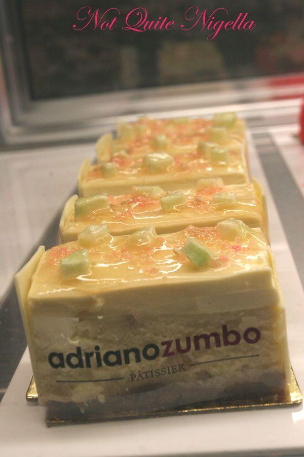 Adriano Zumbo at Balmain Quince Cheesecake