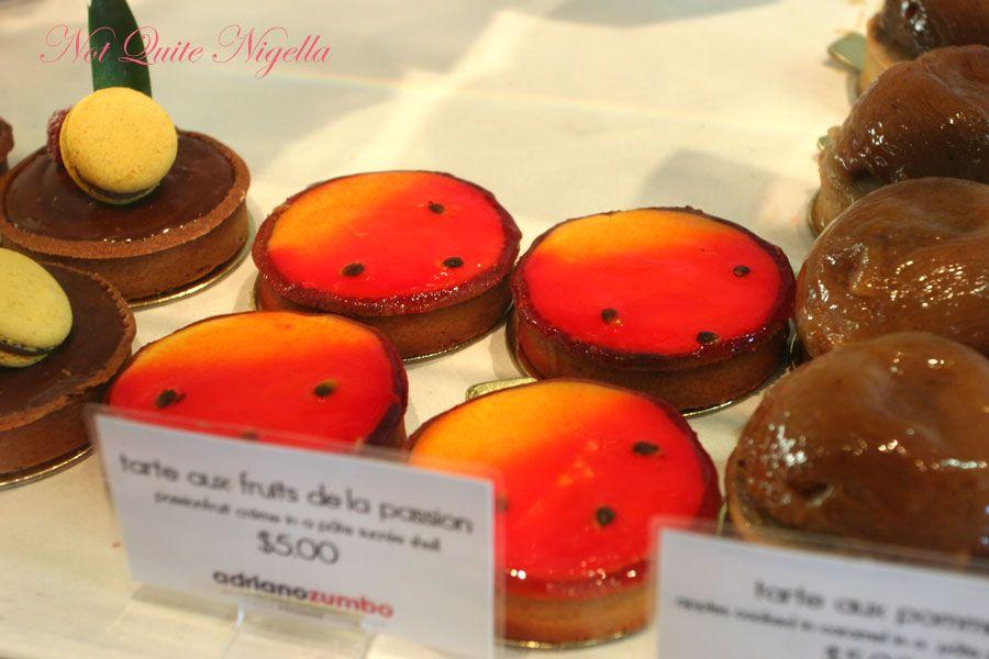 Adriano Zumbo at Balmain Passionfruit tart