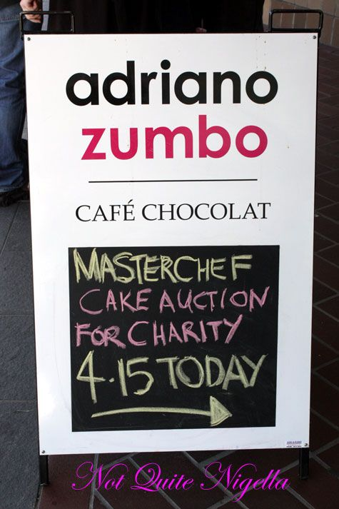 Adriano Zumbo Masterchef Charity Cake Auction, Balmain