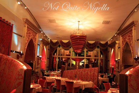 burj al arab dubai inside restaurant