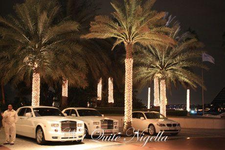 burj al arab dubai palm trees
