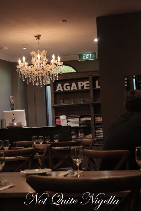 agape organic restaurant, botany, review
