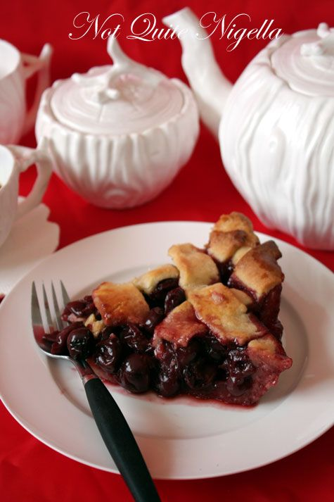 Agent Cooper's favourite Cherry Pie from Twin Peaks