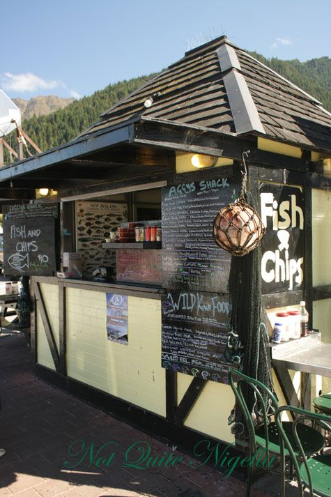 Aggy's Fish & Chips Shack & Paradise, Queenstown, New Zealand