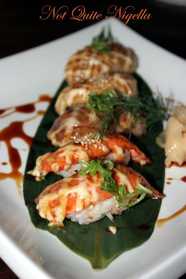 Ainoya Japanese restaurant at Kirribilli Aburi sushi