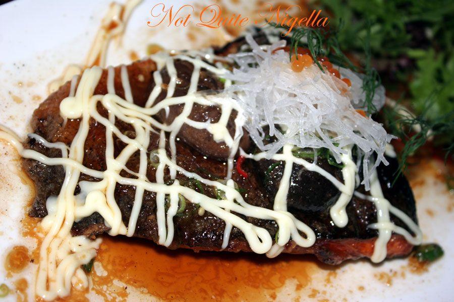 Ainoya Japanese restaurant Kirribilli Pirikara grilled salmon