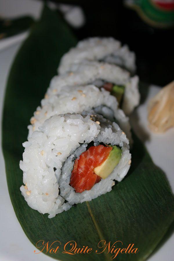 Ainoya Japanese restaurant Kirribilli Salmon Avocado roll