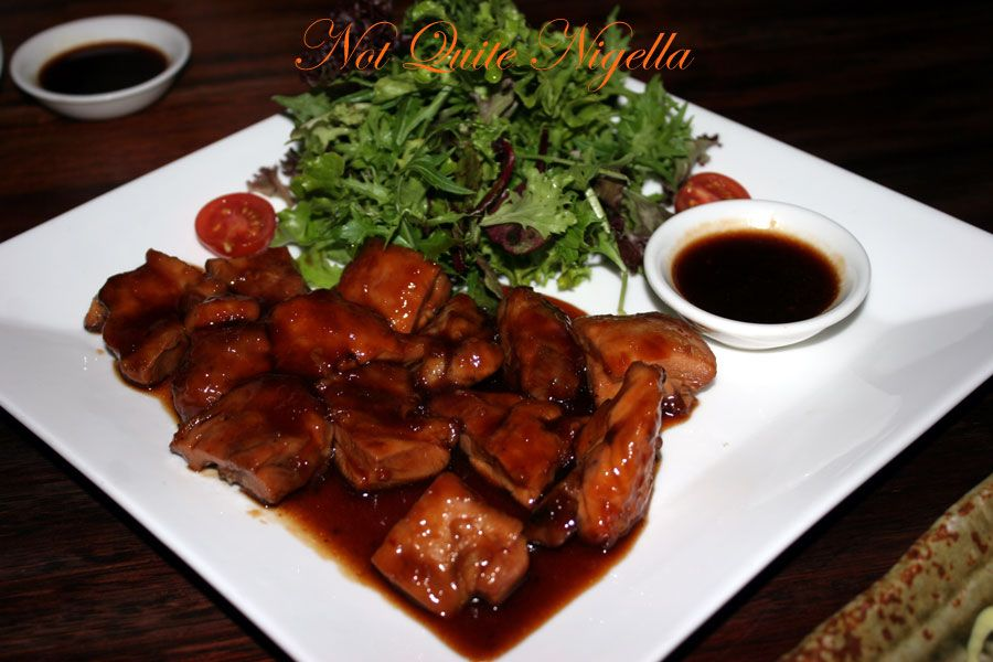 Ainoya Japanese restaurant Kirribilli Teriyaki chicken