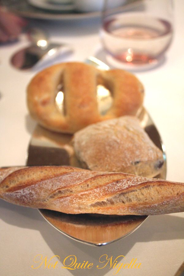 Alain Ducasse at the Dorchester breads