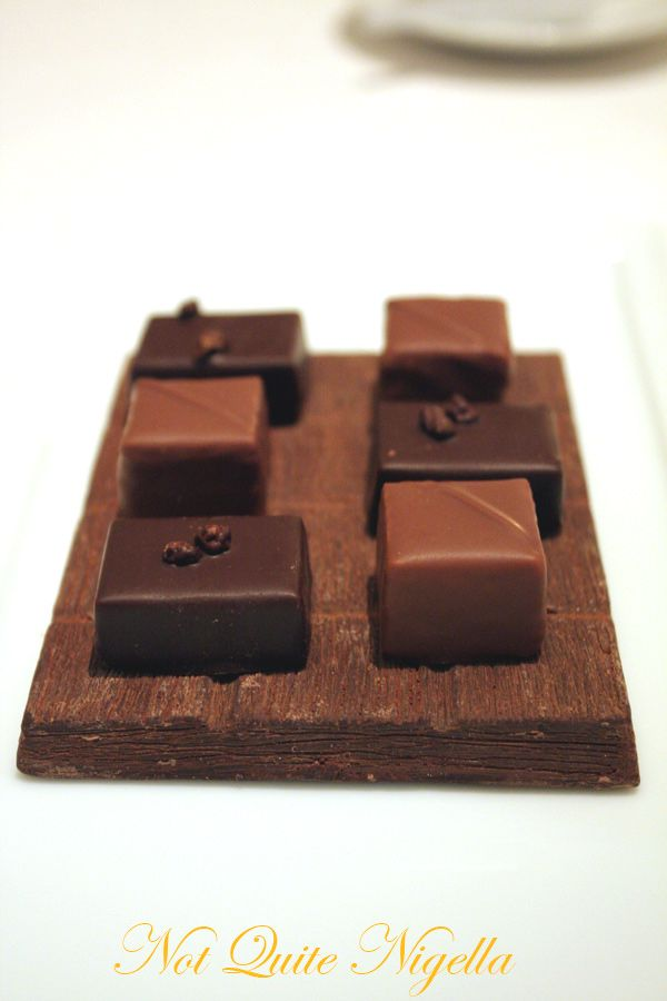Alain Ducasse at the Dorchester Fabrice Guillot chocolates