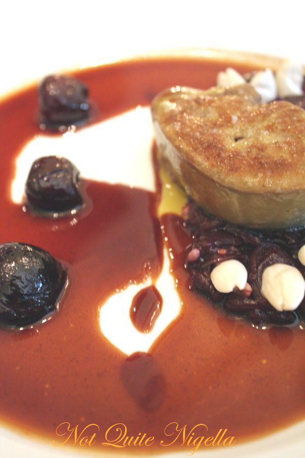 Alain Ducasse at the Dorchester Foie gras