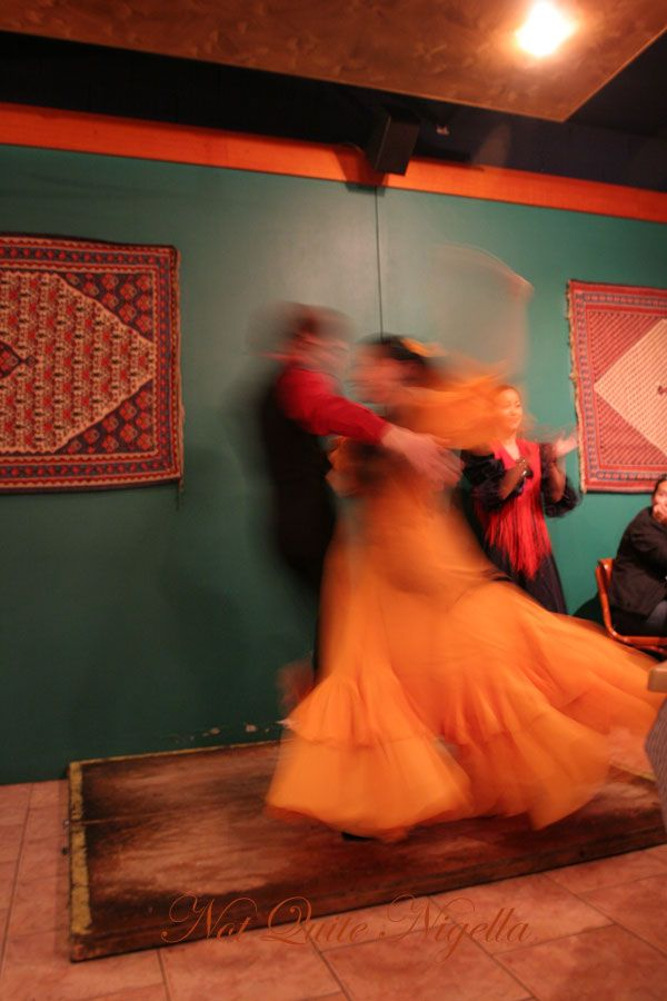 Alhambra Tapas bar & Moorish Cuisine at Manly Flamenco dancing