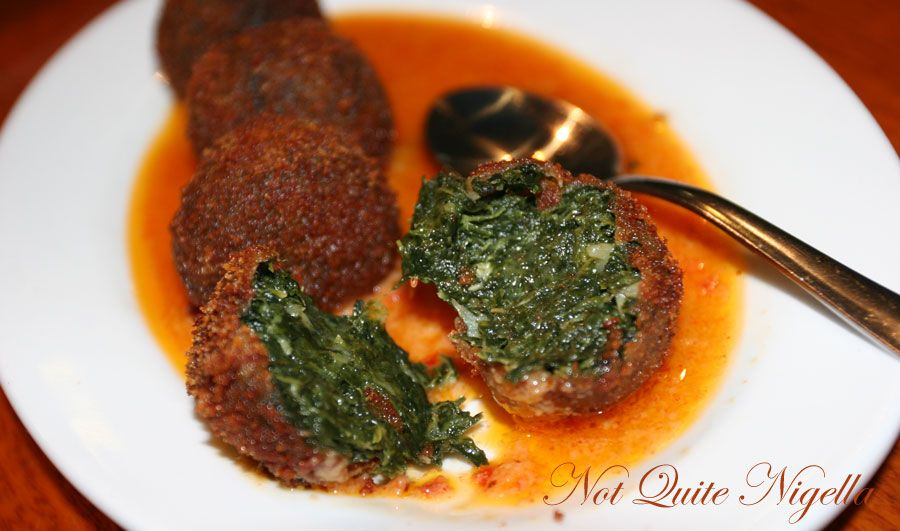 Alhambra Tapas bar & Moorish Cuisine at Manly Cheese spinach balls