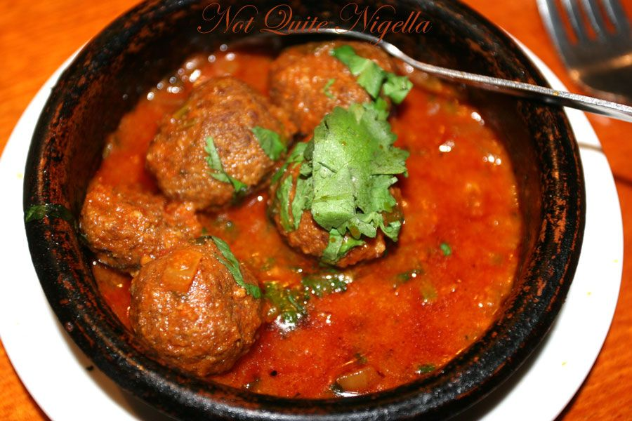 Alhambra Tapas bar & Moorish Cuisine at Manly Moorish meatballs