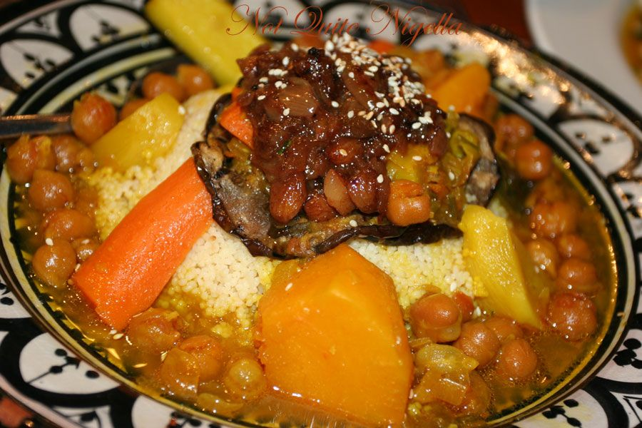 Alhambra Tapas bar & Moorish Cuisine at Manly Vegetarian couscous