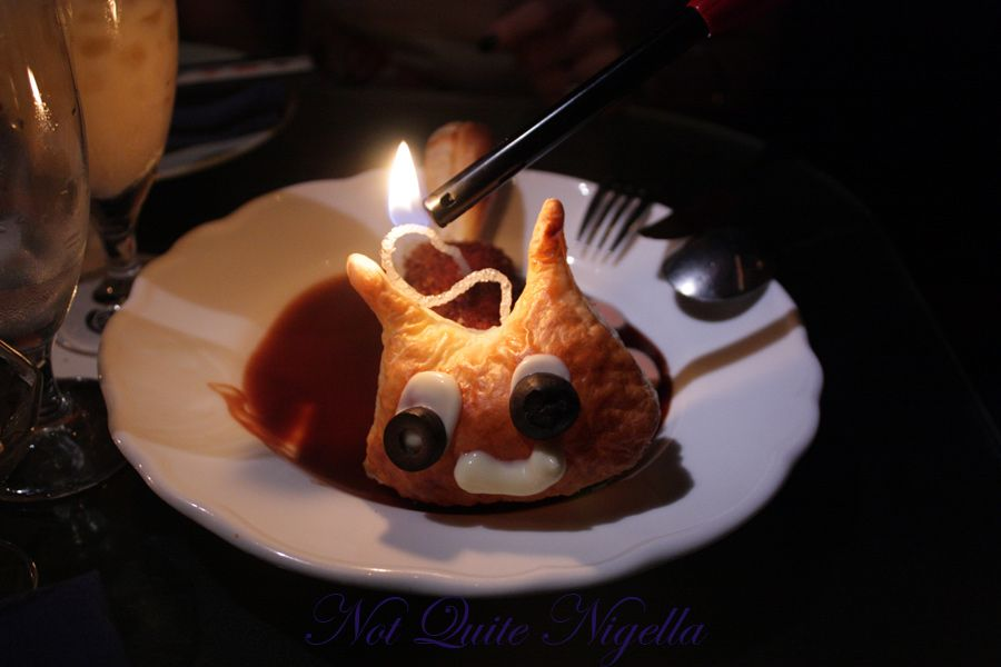 Alice in Wonderland Fantasy dining Ginza Croquette Cheshire cat