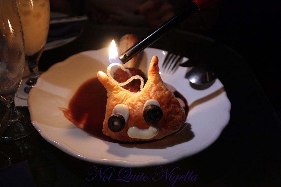 Alice in Wonderland Fantasy dining Ginza Croquette Cheshire cat