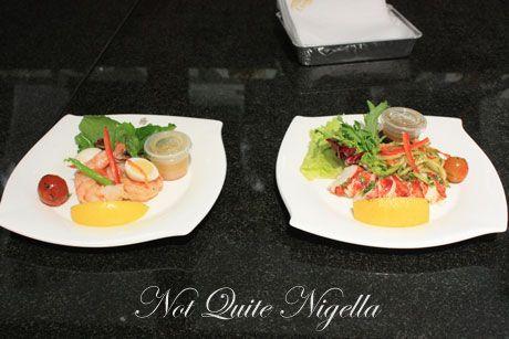 emirates airline food ekfc1 prawns lobster