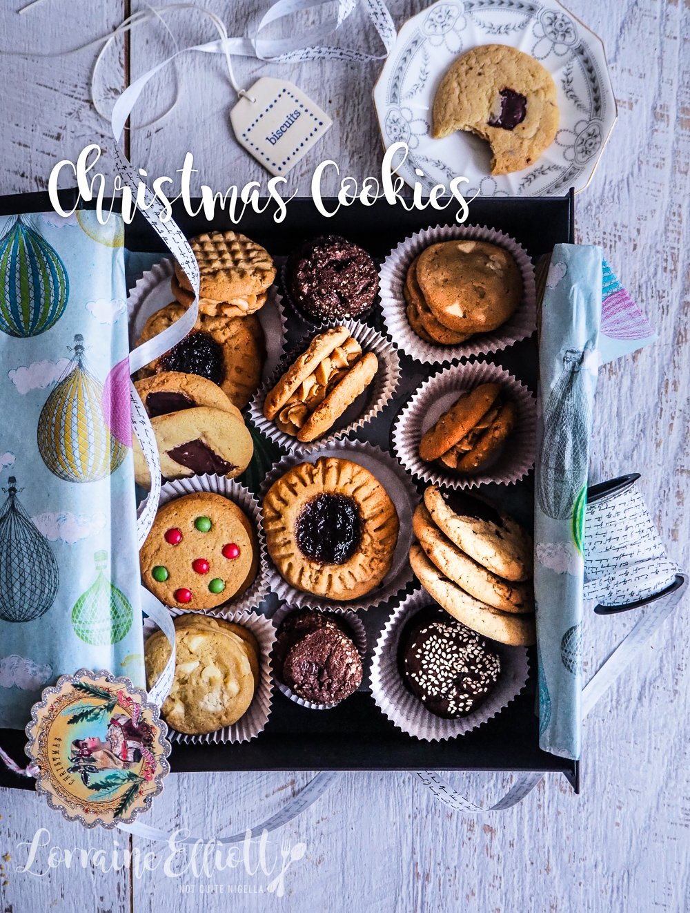 Chewy Crunchy Crisp Soft 8 Christmas Cookies Using 1 Cookie Recipe