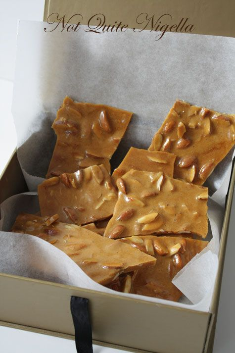 Almond, Cinnamon & Maple Brittle