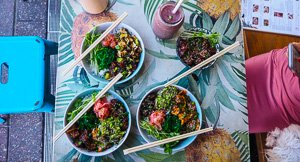 Poke Day, Every Day at Aloha Mate, Manly
