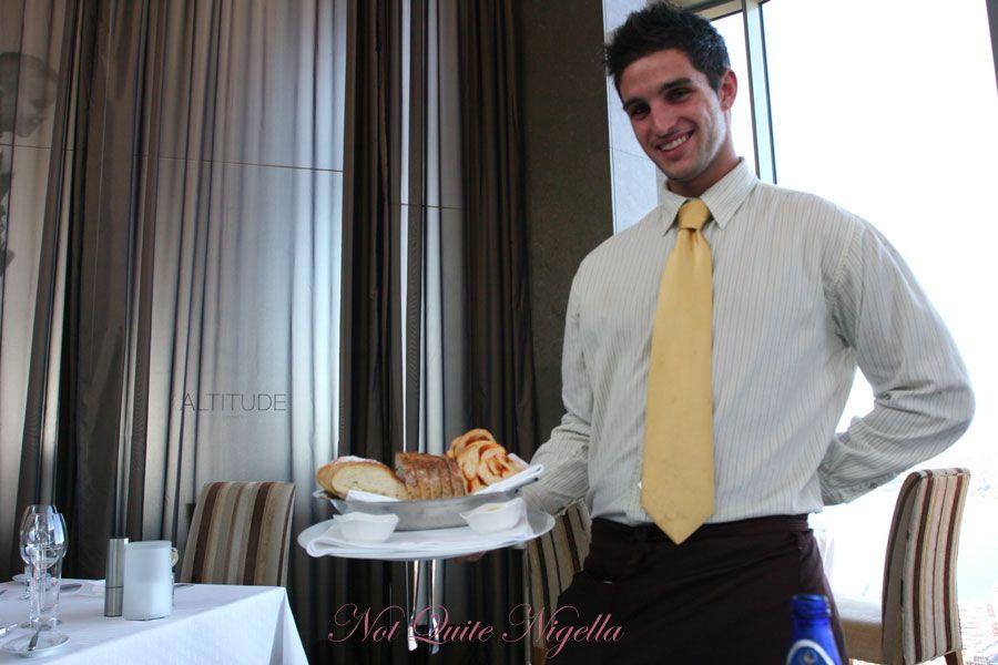 Altitude at the Shangri-la Hotel, The Rocks Sydney Bread