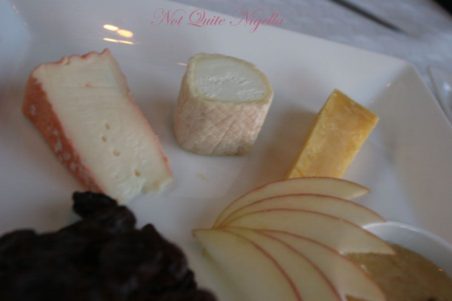 Altitude at the Shangri-la Hotel, The Rocks Sydney Cheese